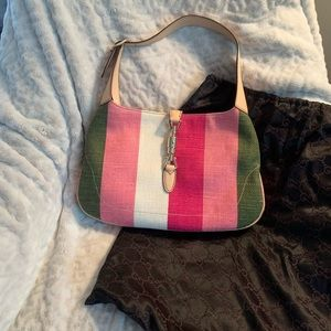 New w/o Tags Gucci Jackie Multi-Color Handbag